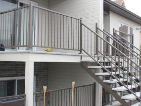 Revêtement de balcon en aluminium